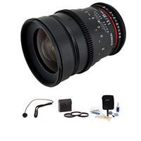 35mm T1.5 Cine Lens for Nikon F - Bundle - with Pro Optic...