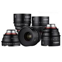 5 Lens Xeen Professional Cine Lens Bundle for Sony E Moun...