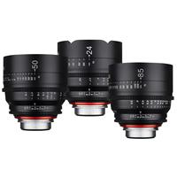 Xeen 3 Lens Bundle Consists of Xeen 24mm T1.5 Cine Lens, ...