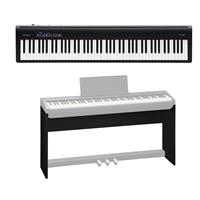 Roland FP-30 Digital Piano (Black) - With Roland KSC-70 C...