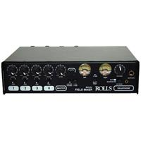 ROLLS MX422 4 Channel Professional Field Audio Mixer with...