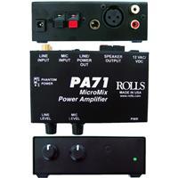 Rolls PA71 Plus Micromix Power Amplifier