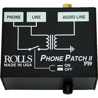 ROLLS PI9 Phone Patch II Telephone Output Adapter with RJ...