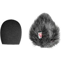 Rycote 5cm Large Hole SGM Foam with 24mm/25mm Windscreen ...