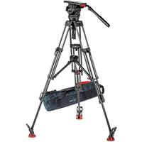 Sachtler Video 18 S2 Fluid Head and ENG 2 MCF Tripod Syst...