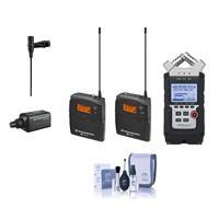 Sennheiser ew 100-ENG G3-A Wireless Mic System with EK 10...