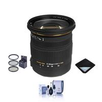 Sigma 17-50mm f/2.8 EX DC OS HSM Auto Focus Lens Kit for ...