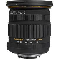 Sigma 17-50mm f/2.8 EX DC HSM Auto Focus Wide Angle Zoom ...