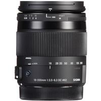 Sigma 18-200mm f/3.5-6.3 DC Macro OS HSM Lens for Canon E...
