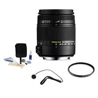 Sigma 18-250mm f/3.5-6.3 DC Macro OS HSM Zoom Lens for Ca...