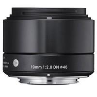 Sigma 19mm f/2.8 DN ART Lens for Sony E-mount Cameras, Bl...
