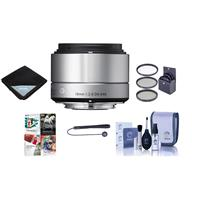 Sigma 19mm f/2.8 DN ART Lens for Sony E-mount, Silver - B...