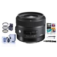 Sigma 30mm f/1.4 DC HSM ART Lens for Canon EOS DSLR Camer...
