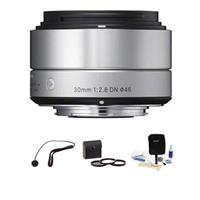 Sigma 30mm f/2.8 DN ART Lens for Sony E-mount Nex Series ...