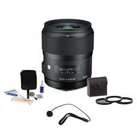 Sigma 35mm f/1.4 DG HSM ART Lens for Pentax DSLR Cameras,...