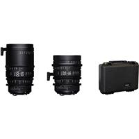 Sigma 18-35mm T2 & 50-100mm Cine High-Speed Zoom Lenses f...
