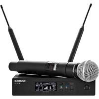 Shure QLXD24/SM58 VHF Handheld Wireless Microphone System...