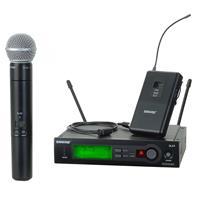 Shure SLX124/85/SM58-J3 Combo Wireless Microphone Combo S...