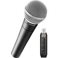 Shure SM58-X2U Cardioid Dynamic Microphone with X2U XLR-t...