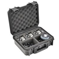 SKB iSeries Waterproof Case for 3 GoPro Cameras with Acce...