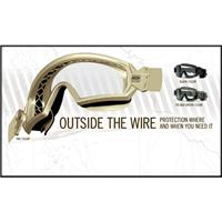 "Smith Optics ""Outside The Wire"" Goggles Deluxe 3 Lens Kit..."