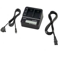 Sony AC-VQV10 Dual Battery / Camcorder Charger for the V,...