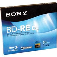 Sony BNE-50RHE Blu-ray 50GB Rewritable Disc Media, Single...