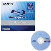 Sony Blu-ray 50GB BD-R Dual Layer Recordable Disc