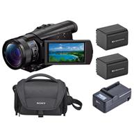 "FDR-AX100 4K Ultra HD Camcorder with 1"" Exmor R CMOS Sens..."
