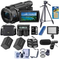 Sony FDR-AX53 4K Ultra HD Handycam Camcorder - Bundle wit...