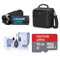 Sony HDR-CX405 Full HD 60p Camcorder, 2.3MP Sensor - Bund...