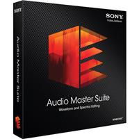 Sony Audio Master Suite - Waveform and spectral Editing (...