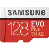 Samsung 128GB EVO Plus UHS-I microSDXC Memory Card w/SD A...
