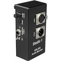 Studio 1 Productions AM300 Headphone Monitor Amplifier For Boom Operators