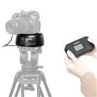 Wireless Panoramic Time Lapse Video Tripod Head with Remo...