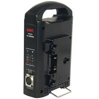 2-Channel Charger/AC Adapter for Gold Mount Battery