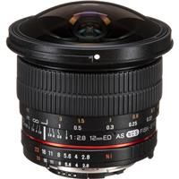 Samyang 12mm F2.8 Full Frame Fisheye, Manual Focus Lens f...