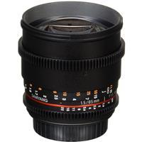 Samyang 85mm T1.5 Cine DS Aspherical Lens for Canon EF Mount