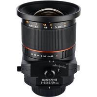 Samyang 24mm f/3.5 ED AS UMC Tilt-Shift, Manual Focus Len...