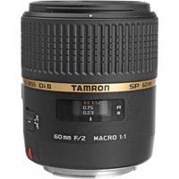 Tamron SP 60mm f/2 Di II 1:1 AF Macro Auto Focus Lens for...