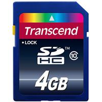 Transcend 4GB Secure Digital High Capacity (SDHC) Class 1...