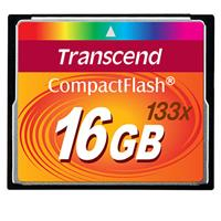 Transcend 16GB 133x High Speed CompactFlash CF Memory Card