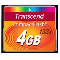 Transcend GB 133x Compact Flash (CF) Memory Card