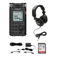 DR-100MKIII Stereo Linear Portable PCM Recorder - Bundle ...