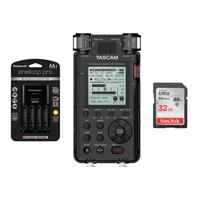 TASCAM DR-100MKIII Stereo Linear Portable PCM Recorder - ...