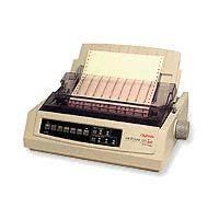 Oki Data Microline 321T, 9-Pin Turbo Dot Matrix Impact Wi...