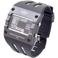 UZI W-799 Digital Sport Men's Watch with Rubber Strap, Bl...