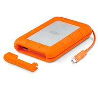 LaCie Rugged Thunderbolt - Hard drive - 2 TB - external (portable) - USB 3.0 / Thunderbolt - 5400 rpm - buffer: 64 MB - IP54