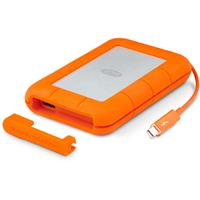 "LaCie 4TB Rugged RAID 2.5"" External Hard Drive, Thunderbo..."