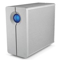 LaCie 2big Quadra 8TB 2-Bay RAID Hard Drive, 7200rpm Rota...